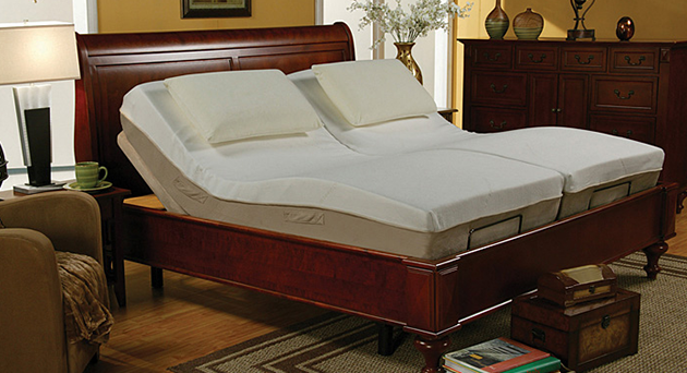 Massage Adjustable Twin Long Bed